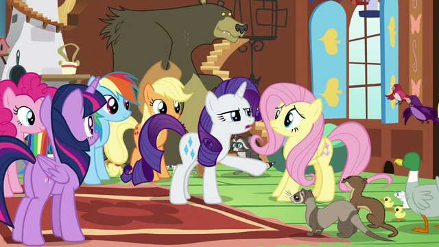 "File:Rarity suddenly serious ""no"" S7E5.png"