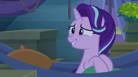 Starlight looks embarrassed at Trixie S8E19