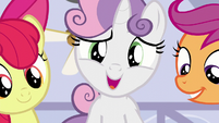 Sweetie Belle --and maybe even a little lost-- S6E4