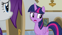 "Twilight ""came here instead of my school"" S8E16"