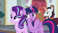 "Twilight ""why aren't you in class teaching?"" S8E1"