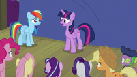 "Twilight Sparkle ""I promised Celestia"" S8E7"