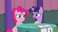 "Twilight Sparkle ""it's fine, Pinkie"" S9E16"