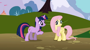 Twilight and Fluttershy1 S1E01