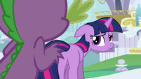 Twilight looking depressed S3E01