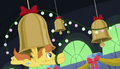 Warm Front decorating the bells with ornaments S06E08.png