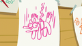A sheet of paper showing bungee-jumping S6E4.png