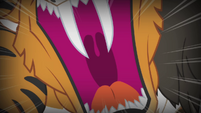 Chimera's tiger head roaring S4E17