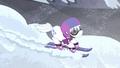 Double Diamond skis along a snowy slope S5E2.png