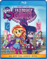 Equestria Girls Friendship Games Blu-ray cover