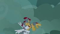 Flash Magnus helping white Legion cadet S7E16