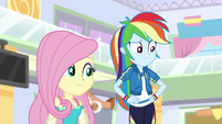 Fluttershy and Rainbow Dash EGROF
