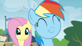 Fluttershy and Rainbow Dash pleased S4E22.png