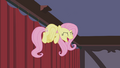 Fluttershy losing herself to the music S4E14.png