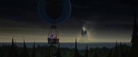 Mane Six in a hot air balloon MLPTM