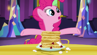 "Pinkie ""she insisted I make even more"" S5E3"