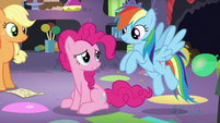 "Pinkie ""the trip was really hard"" S5E11"