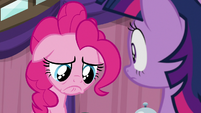 Pinkie Pie with extremely sad pout S9E16