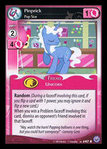 Pinprick, Pop Star card MLP CCG