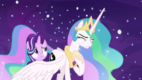"Princess Celestia ""even when we were apart"" S7E10"