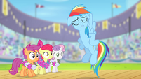 Rainbow Dash --contain your excitement-- S4E05