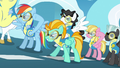 Rainbow Dash and Lightning Dust about to take off S3E7.png