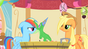 Rainbow Dash gets her surprise S1E25