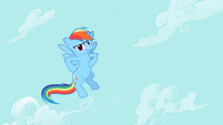 Rainbow Dash see us S2E8