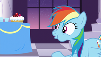 Rainbow stops from spitting S5E15