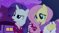 Rarity and Fluttershy S2E16