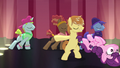Sugar Belle getting tossed from the stage S7E8.png