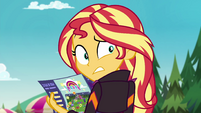 Sunset Shimmer trying to ditch Pinkie EGSBP