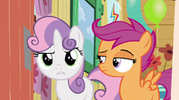 """Sweetie Belle """"you can't come in then either"""" S5E4"""