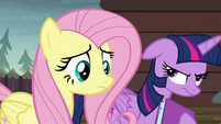 Twilight Sparkle getting annoyed S5E23