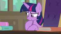 Twilight Sparkle worried about Fluttershy S8E4
