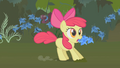 Apple Bloom stops upon hearing Applejack S1E09.png
