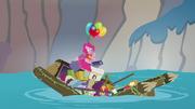 Apple family raft collapsing S4E09