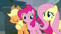 Applejack, Pinkie, and Fluttershy hopeful S8E2
