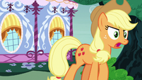 "Applejack ""I was just sayin' what I thought!"" S7E9"