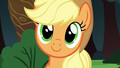 Applejack listening to Rainbow Dash S6E18.png