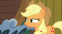 Applejack pleased with herself S6E20