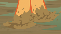 Applejack stepping through the mud S8E23