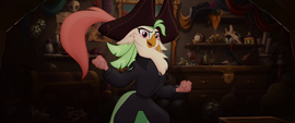 Captain Celaeno wearing her pirate hat MLPTM