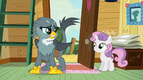 Gabby --griffons and cutie marks just don't mix-- S6E19