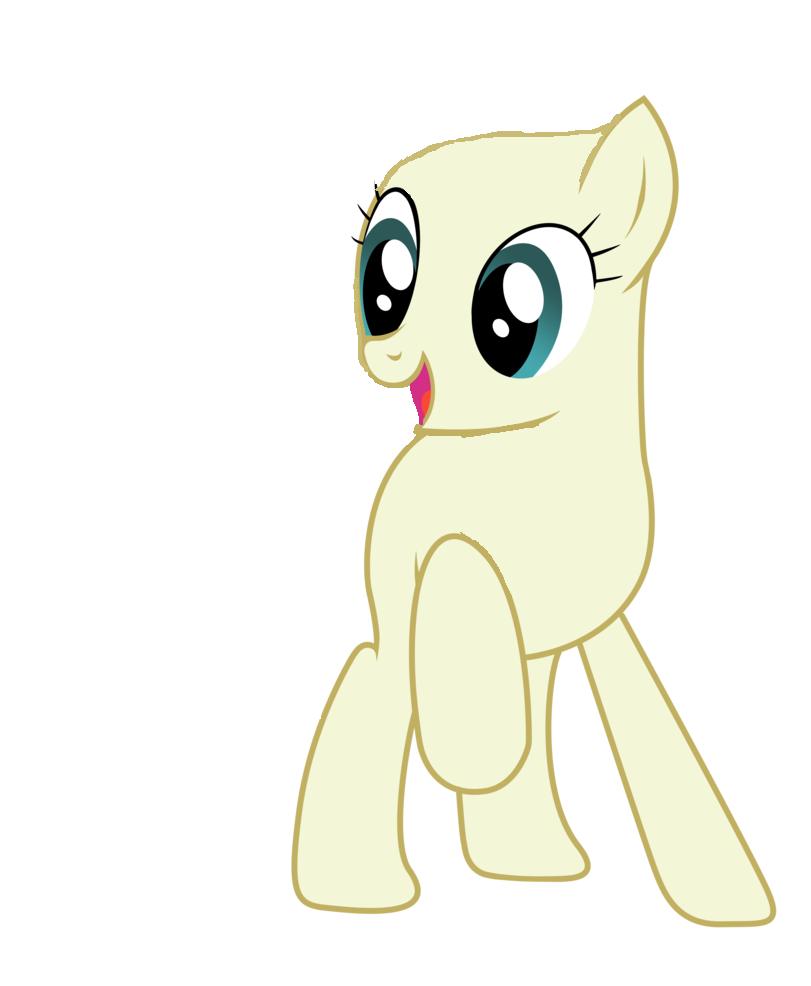 Imagem - MLP Base Earth Pony.png