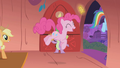 Pinkie Pie happy with her ticket S01E03.png