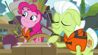 Pinkie Pie long -hmmmm- S4E09