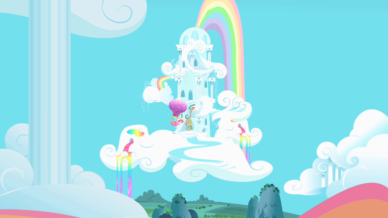 Cloudominium My Little Pony Friendship Is Magic Wiki Fandom