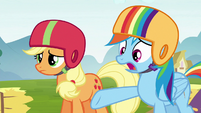 Rainbow Dash --why didn't you say anything--- S6E14