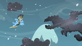 Rainbow Dash about to fight a cloud S2E11.png